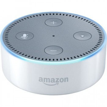 Boxa Portabila Amazon Echo Dot, Alb