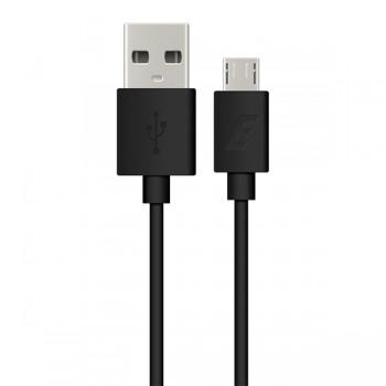 Cablu de date MicroUSB Energizer Negru