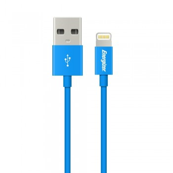 Cablu date Energizer pentru iPhone 5/5S/5C, 1,2m, Albastru - 1