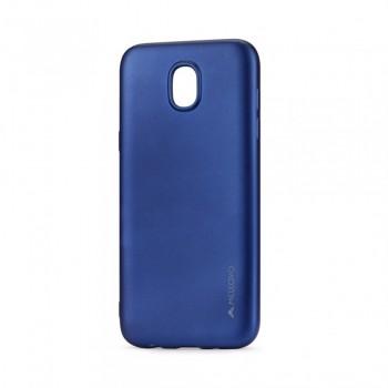Carcasa Silicon Meleovo Soft Slim pentru Samsung Galaxy J5 2017, Albastru - 1
