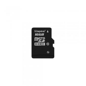 Card de memorie Kingston MicroSDHC, 16GB, Class 10