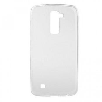 Husa silicon ultraslim pentru LG K8 transparent
