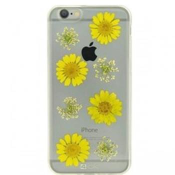 4OK Carcasa spate flori Iphone 6 transparent FCI6MA