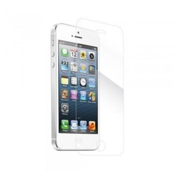 Folie ecran sticla securizata Gold Tempered Glass pentru iPhone 5/5S/SE