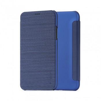 Husa de protectie Meleovo Smart Flip, pentru Apple iPhone X, Blue - 1