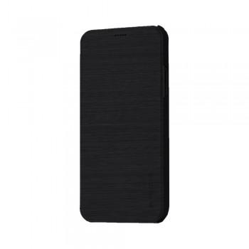Husa de protectie Meleovo Smart Flip, pentru Apple iPhone X, Negru - 1