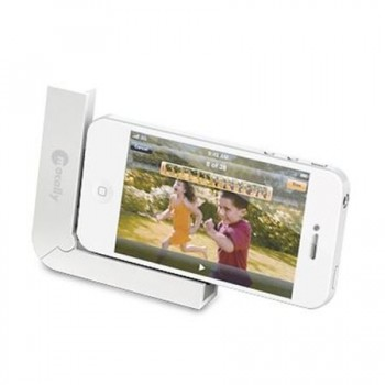 Dock & sync pliabil Macally pentru iPhone 4/4S sau iPod, White