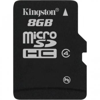 Card de memorie Kingston MicroSDHC, 8GB Class 4