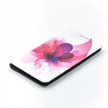 Husa Flip Folio Tellur pentru Samsung Galaxy J3 2016 pink flower