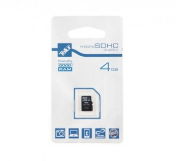 Card de memorie Tellur MicroSDHC, 4GB, Class 4