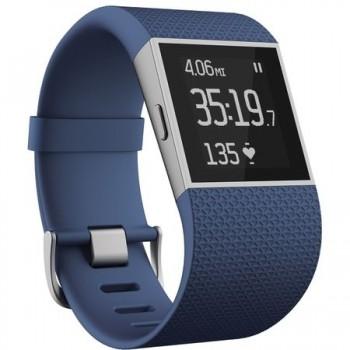 Bratara fitness Fitbit Surge Large, Albastru