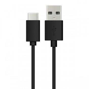 Cablu de date Energizer, USB Type C, 1.2m, Negru