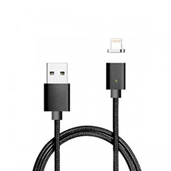 Cablu de date magnetic IDEAL pentru iPhone Black