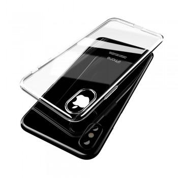 Carcasa iPhone X Mcdodo Crystal Soft Slim Jacket Clear - 1