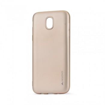 Carcasa Meleovo Metallic Slim pentru Samsung Galaxy J5 2017, Auriu