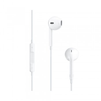 Casti cu microfon Apple EarPods, Lightning, White - 1