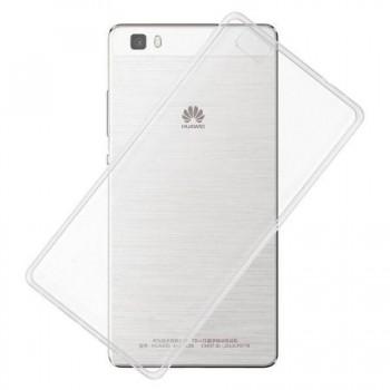 Husa silicon ultraslim pentru Huawei P8 Lite transparent