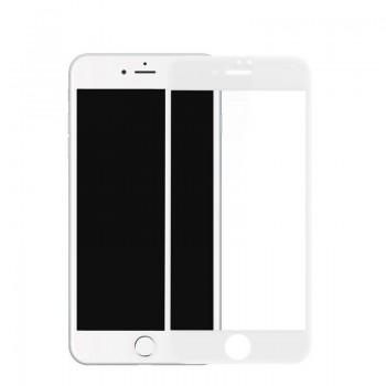 Folie de protectie sticla iPhone 8 White