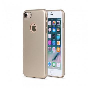 Husa de protectie Meleovo 360 Shield, pentru Apple iPhone 8, Gold - 1