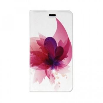 Husa tip carte Tellur Samsung Galaxy A3 2017, Pink Flower