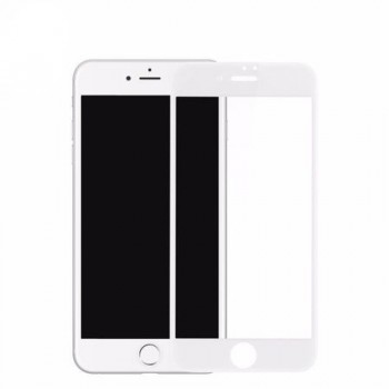 Folie Sticla LITO Full Cover Tempered Glass Iphone 6 White