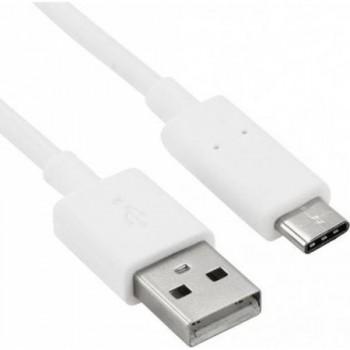 Cablu de date Tellur microUSB Type C, Alb