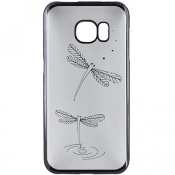 Husa de protectie Tellur pentru Samsung S7, Dragon Fly, Black