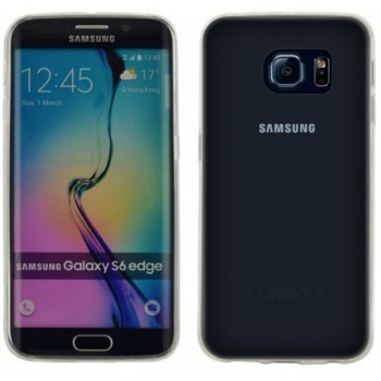 4OK Carcasa spate slim 0.2 Galaxy S6 Edge transparent USG6ET