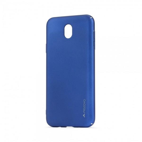 Carcasa Meleovo Metallic Slim pentru Samsung Galaxy J5 2017, Albastru