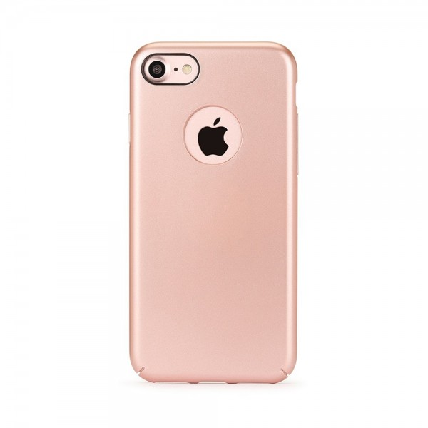 Husa de protectie Meleovo 360 Shield, pentru Apple iPhone 8, Rose Gold - 2