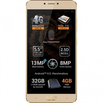Allview X3 Soul Plus, Dual SIM, 32GB, 4G, Gold