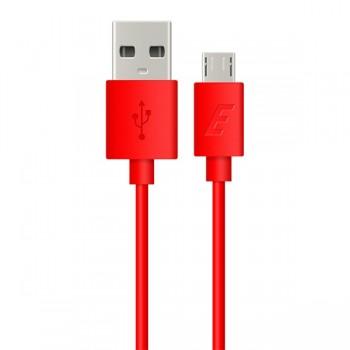 Cablu de date MicroUSB Energizer 1.2m rosu