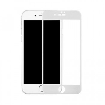 Folie de protectie sticla iPhone 7 White