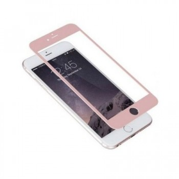 Folie protectie 3D Rose Gold iPhone 7