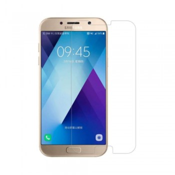 Folie ecran sticla securizata Nuglas pentru Samsung Galaxy A5 2017, Transparenta