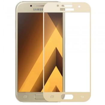 Folie protectie 3D Gold Samsung Galaxy A5 2017