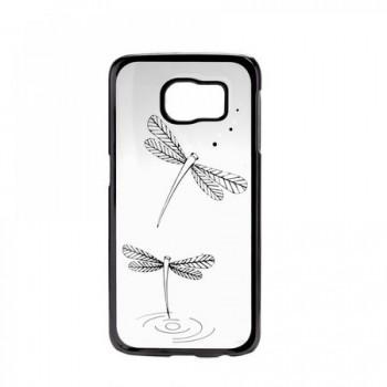 Carcasa spate Galaxy S6 Dragon Fly black