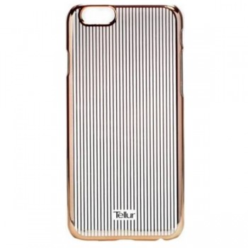 Carcasa spate Iphone 6 Stripe rose gold