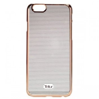 Carcasa spate Iphone 6 Horiz Stripe rose gold