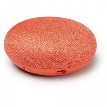 Boxa inteligenta Google Home Mini - Asistent personal inteligent cu control voce, Rosu
