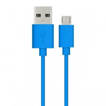 Cablu date MicroUSB Energizer 1.2m albastru