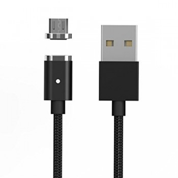Cablu de date magnetic IDEAL MicroUSB Black