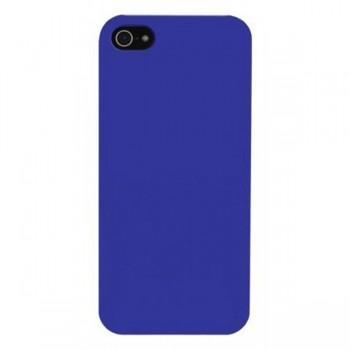 Husa din plastic 4Ok model Back Cover pentru iPhone 5 Blue