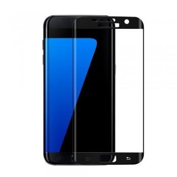 Folie protectie 3D Black Samsung Galaxy S7 Edge