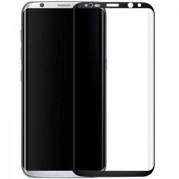 Folie protectie 3D curbata Black Samsung Galaxy S8 Plus