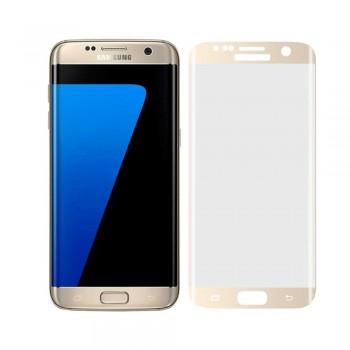 Folie protectie 3D Gold Samsung Galaxy S7 Edge