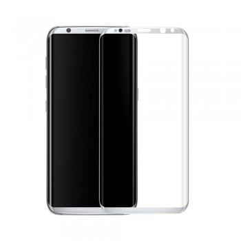Folie protectie 3D Silver Samsung Galaxy S8