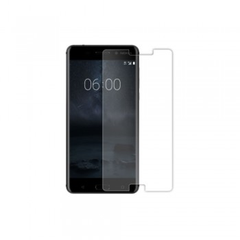 Folie ecran sticla securizata Gold Tempered Glass pentru Nokia 6 - 1