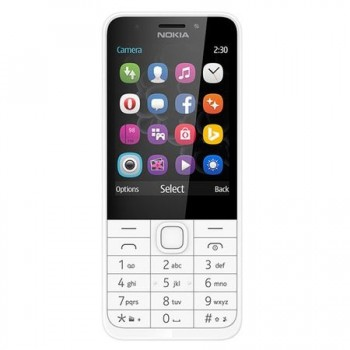 Nokia 230 Single SIM Silver
