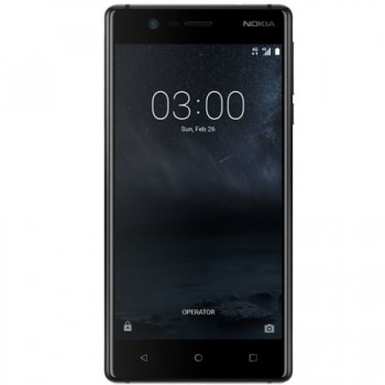 "Nokia 3 Dual SIM 5.0"" HD 16GB 2GB RAM 4G Black"